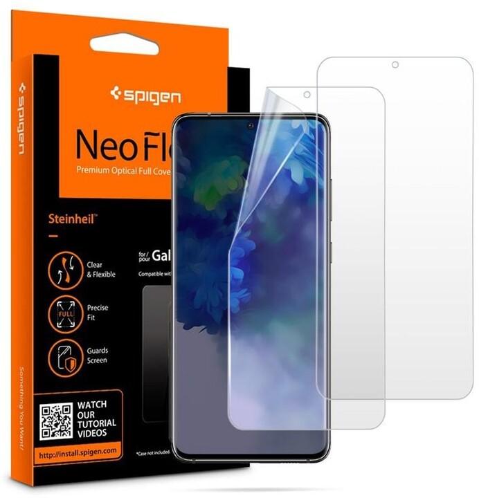 Spigen ochranná fólie Neo Flex HD pro Samsung Galaxy S20+, 2ks