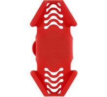 """BONE držák na kolo pro mobil 4-6,5"""", Bike Tie PRO2, červená - BK18002-R"""
