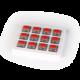 Keychron mechanické spínače, Gateron Low Profile Red, 12ks