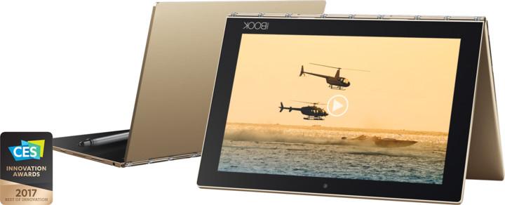 Lenovo Yoga Book YB1-X90F, zlatá