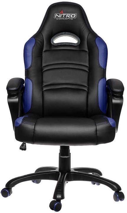Nitro Concepts C80 Comfort, černá/modrá