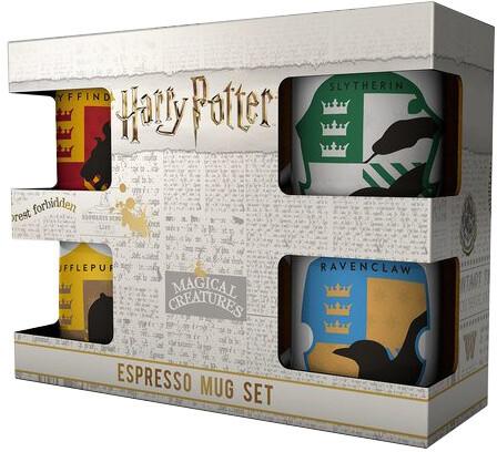 Hrnek Harry Potter - House Pride Espresso Sada - 4 ks