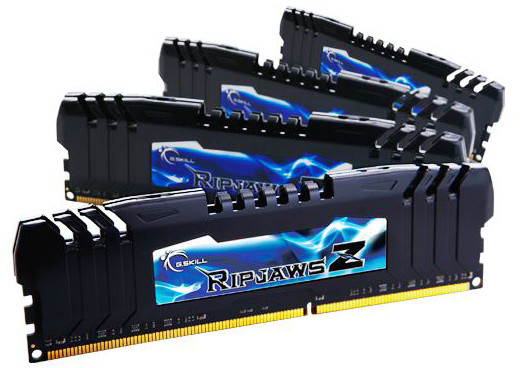 G.SKill RipjawsZ 16GB (4x4GB) DDR3 2400 CL10