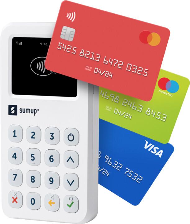 SumUp 3G platební terminál - CZ