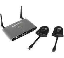 Kindermann Klick & Show K 42U Kit - základna + 2x USB-A Wi-Fi transmitrer - 7488000310