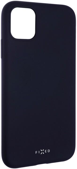 FIXED zadní pogumovaný kryt Story pro Apple iPhone 11, modrá