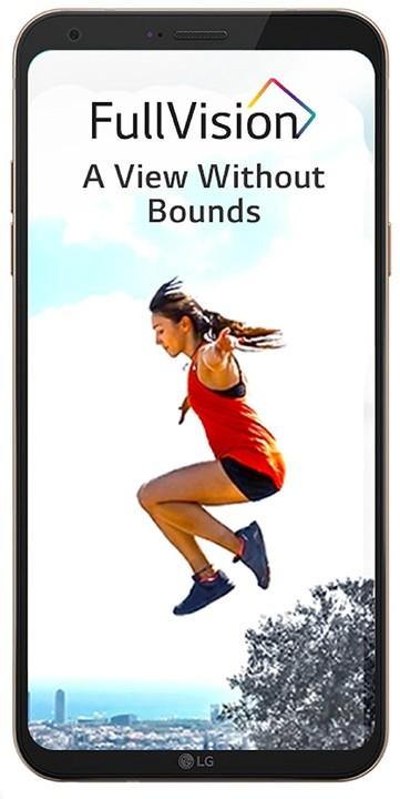 LG Q6 - 32GB, Dual sim, zlatá