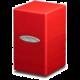 Krabička na karty Ultra Pro: Satin Tower, červená