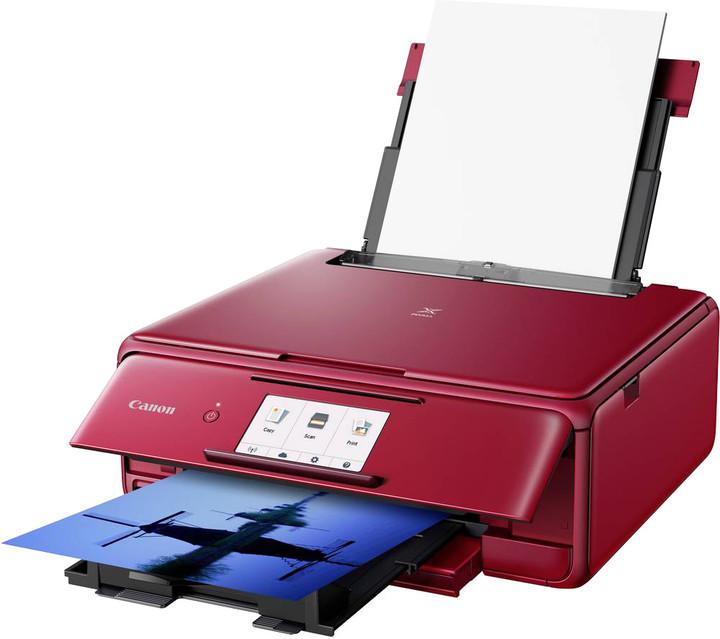 Canon PIXMA TS8152, červená