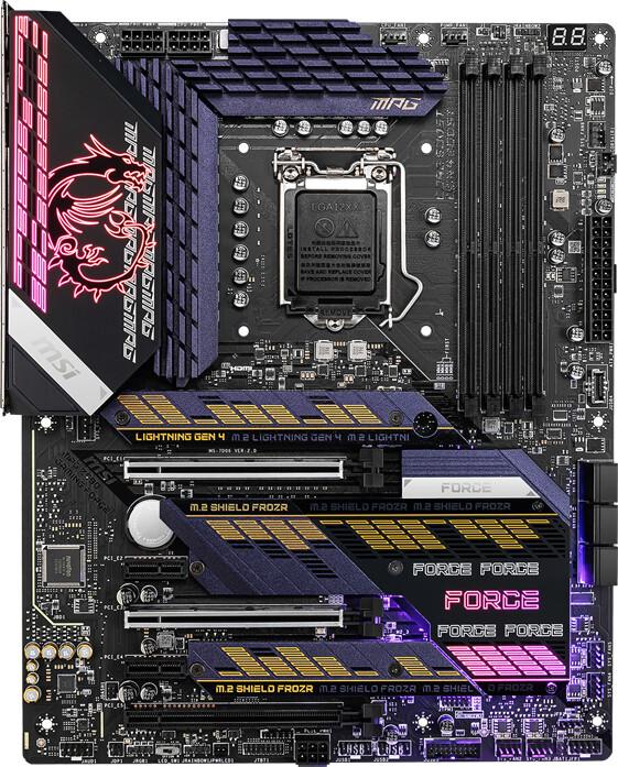 MSI MPG Z590 GAMING FORCE - Intel Z590