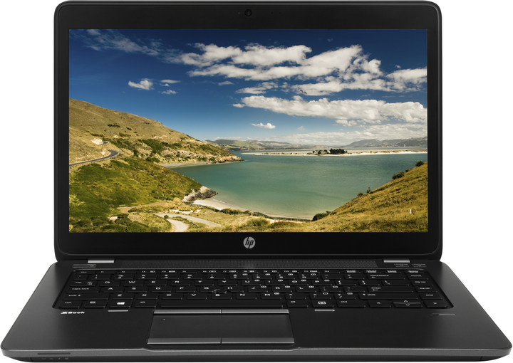 HP ZBook 14, černá