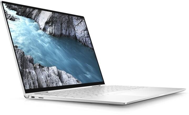 Dell XPS 13 (9310) Touch, stříbrná/bílá