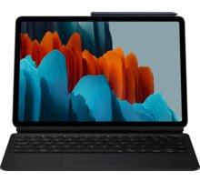 Samsung pouzdro s klávesnicí Book Cover pro Galaxy Tab S7, černá - EF-DT870UBEGEU