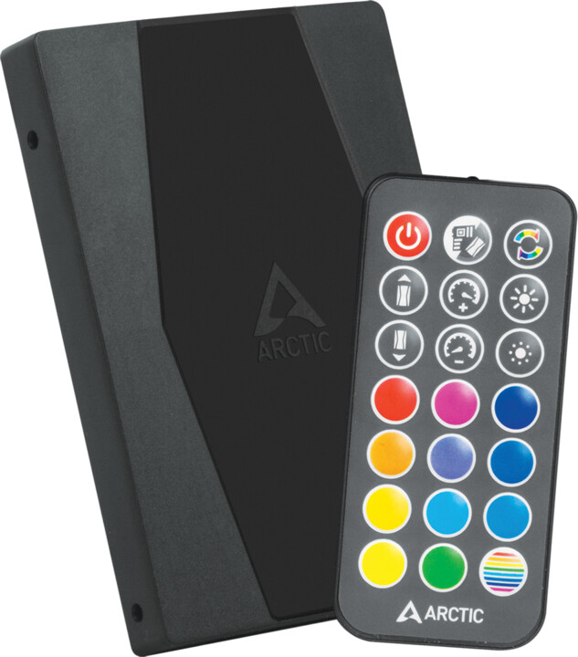 Arctic adresovatelný RGB (A-RGB) ovladač