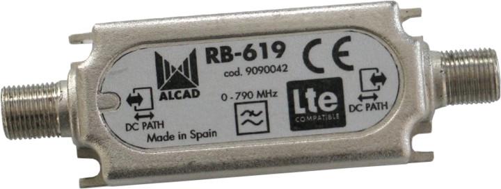 Anténní pásmový LTE filtr Alcad RB-619