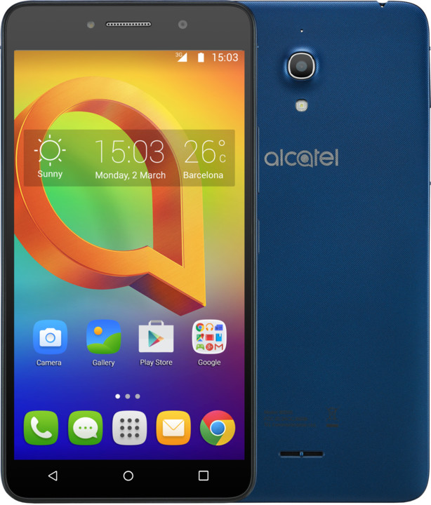 ALCATEL A2 XL 8050D, modrá