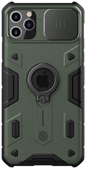 Nillkin zadní kryt CamShield Armor pro iPhone 11 Pro, tmavě zelená