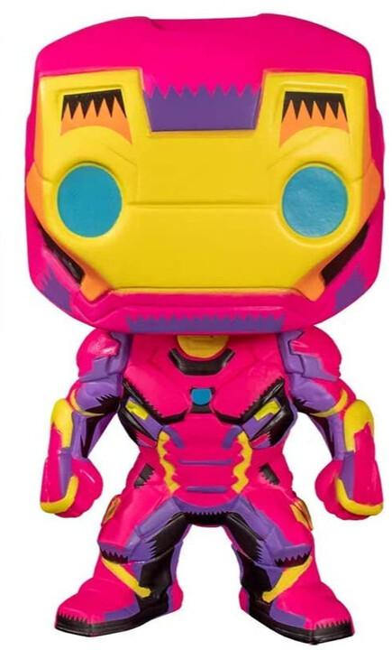 Figurka Funko POP! Marvel - Black Light Iron Man