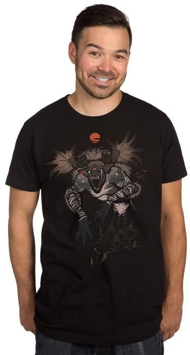 Tričko The Witcher - Fiend Forest (US L / EU XL)