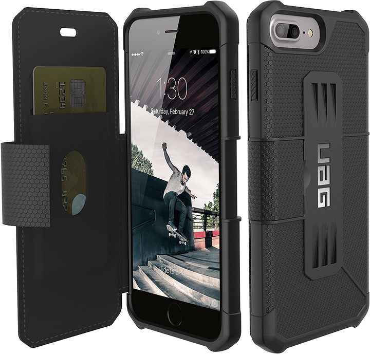 UAG metropolis case Black, black - iPhone 8+/7+/6s+