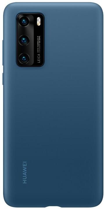 Huawei Original silikonové pouzdro pro P40, modrá
