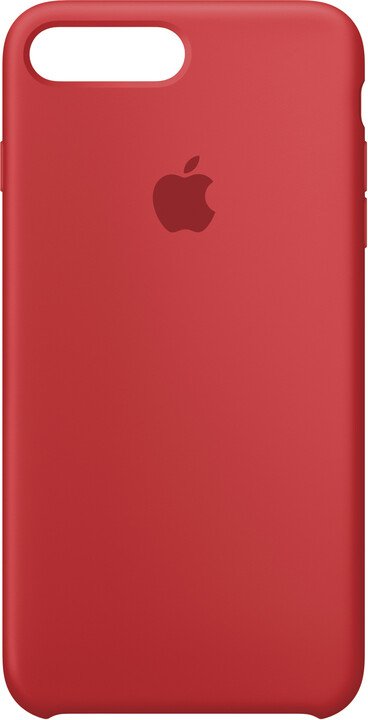 Apple Silikonový kryt na iPhone 7 Plus/8 Plus – (PRODUCT) RED
