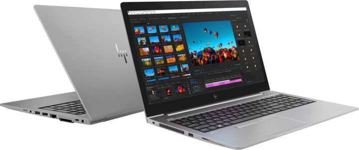 HP ZBook 15u G5, šedá