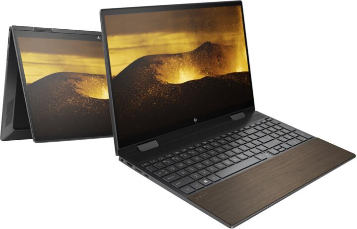 HP ENVY x360 15-ed1003nc, černá