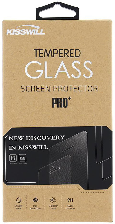 Kisswill Tvrzené sklo 0.3 mm pro Honor 8 Pro