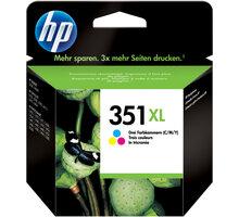 HP CB338EE, no.351, barevná – ušetřete až 50 % oproti standardní náplni O2 TV Sport Pack na 3 měsíce (max. 1x na objednávku)