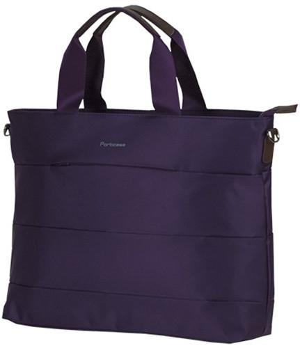 PORTCASE taška na notebook KCB-70 - dámská, tmavě fialová