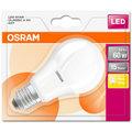 Osram LED STAR ClasA 8,5W 827 E27 noDIM A+ 2700K