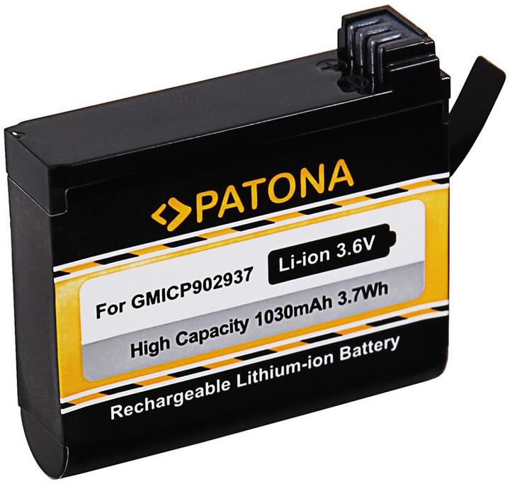 Patona baterie pro videokameru Garmin VIRB Ultra 30 1030mAh Li-lon