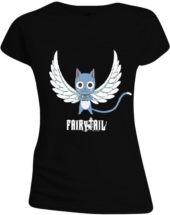Tričko Fairy Tail - Happy Angel, dámské (XL)