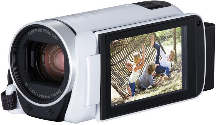 Canon Legria HF R806, bílá - Essential Kit