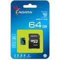 ADATA Micro SDXC Premier 64GB 85MB/s UHS-I U1 + SD adaptér