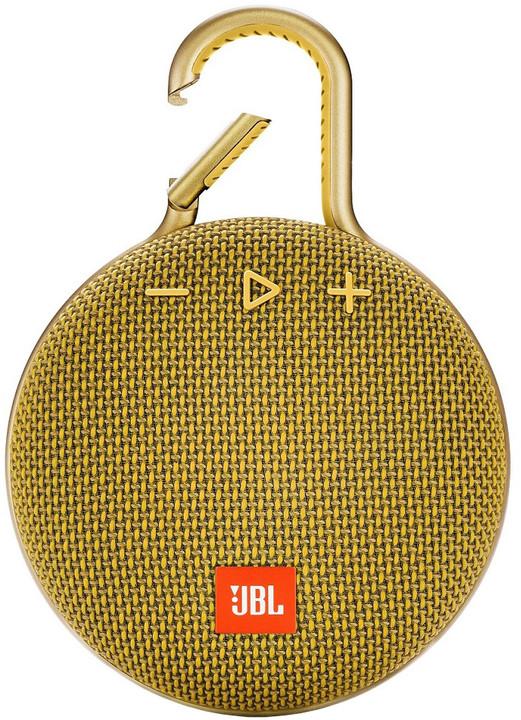 JBL Clip 3, žlutá