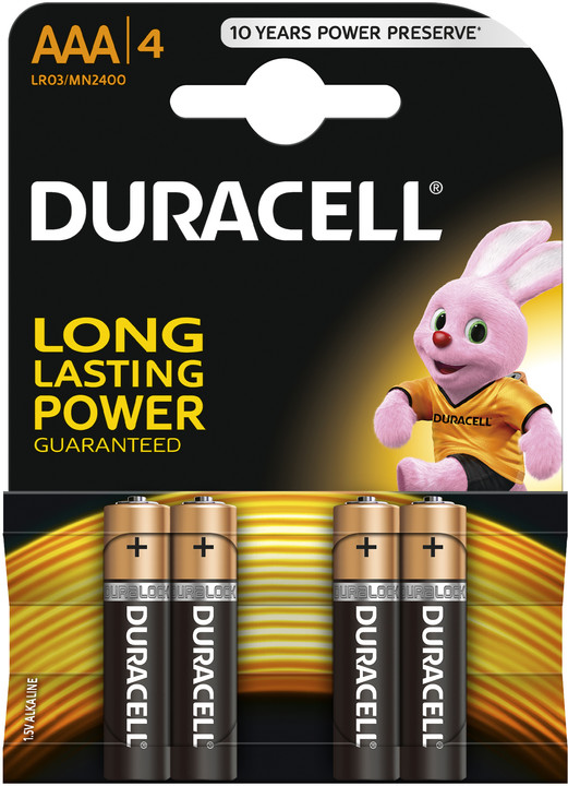 Duracell Basic AAA, 4ks