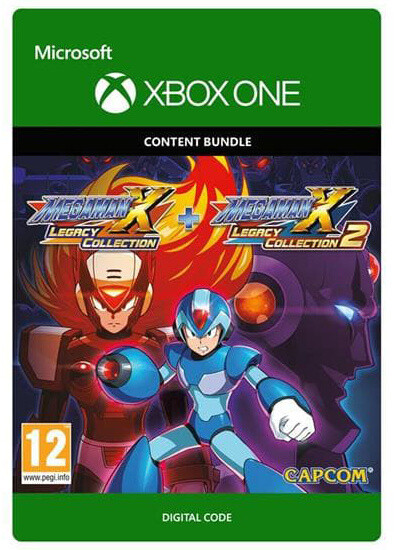 Mega Man X Legacy Collection 1-2 Bundle (Xbox ONE) - elektronicky
