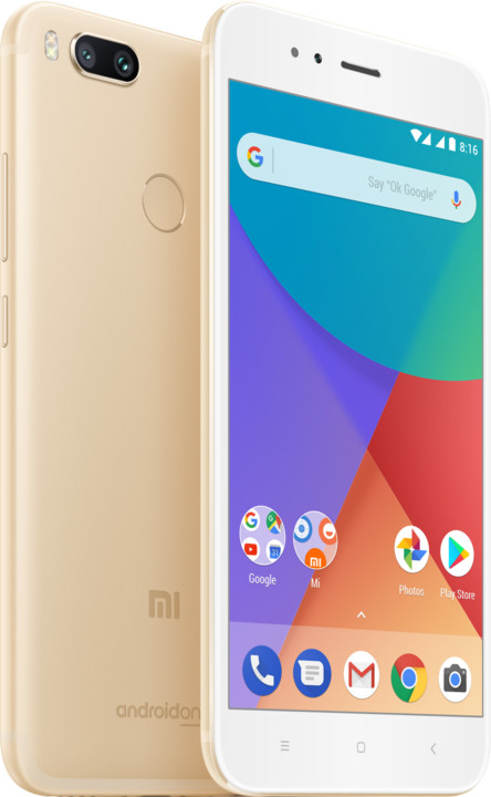 Xiaomi Mi A1 - 32GB, Global, zlatá