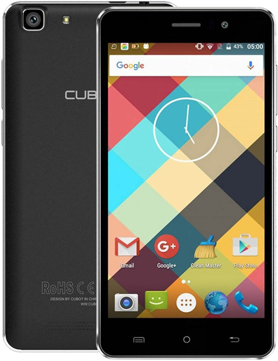 CUBOT Rainbow - 16GB, černá