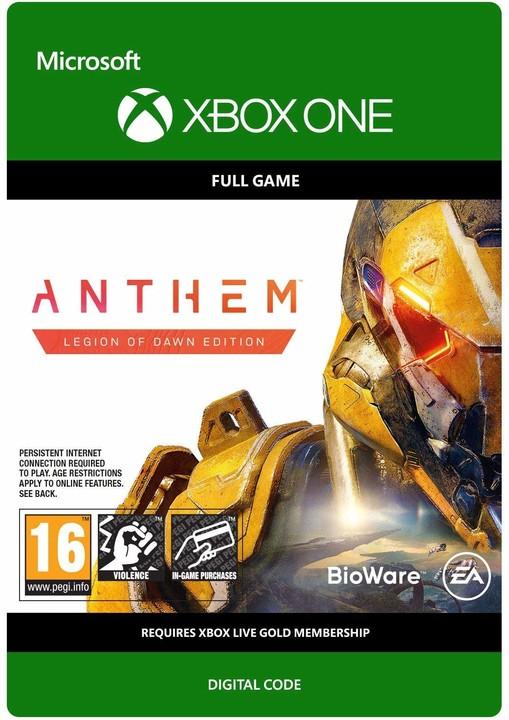 Anthem - Legion of Dawn Edition (Xbox ONE) - elektronicky