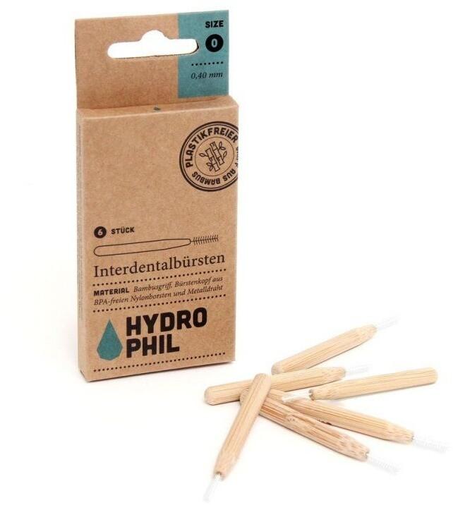 Hydrophil Bambusový mezizubní kartáček (6 ks) - 0,40 mm