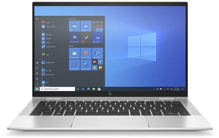 HP EliteBook x360 1030 G8, stříbrná