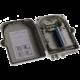 Masterlan FTTH optický spojovací box pro 24x SC, včetně kazety a spojek, šedivá
