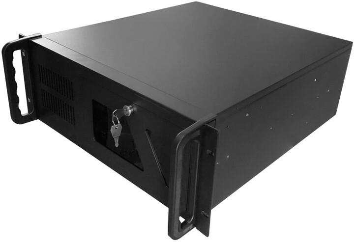 """DATACOM 19"""" IPC, skříň do racku, 485mm, 4U, černá"""