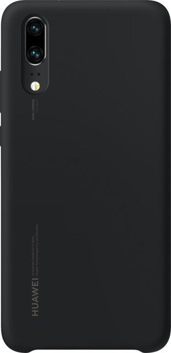 Huawei Silicon Case Pouzdro pro P20, černá