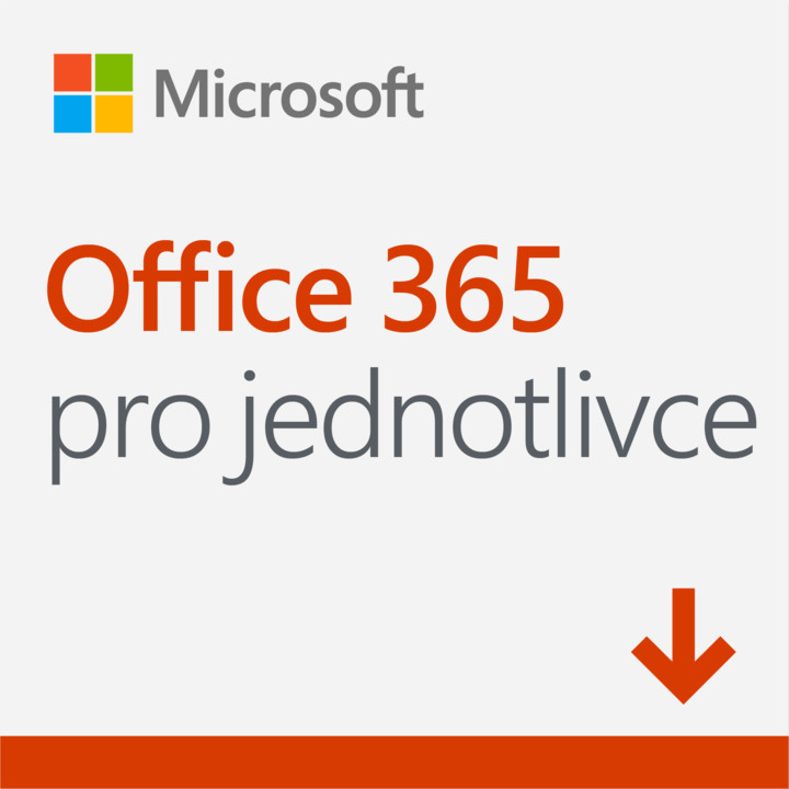 Microsoft Office 365 pro jednotlivce - elektronicky