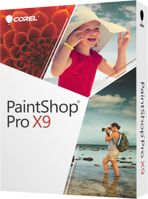 Corel PaintShop Pro X9 Education Edition License (1-4)