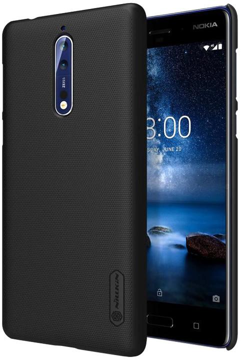 Nillkin Super Frosted Zadní Kryt pro Nokia 8, Black